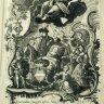 Allegorische Verherrlichung von Maria Theresias Fruchtbarkeit, Kupferstich