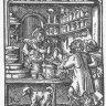 Jost Amman: *Eygentliche Beschreibung aller Stände auff Erden*, The Apothecary, 1568