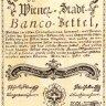 Banco-Zettel zu 10 Gulden, 1. Juli 1762
