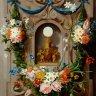 Jan Anton van der Baren: The Eucharist wreathed in flowers, painting, 1635-1659