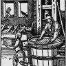 Jost Amman: Paper-maker (*Ständebuch*), 1568