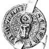 Seal of the Viennese butcher Seifried der Amman, 1367